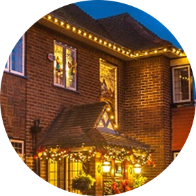 residential Christmas Decorators services