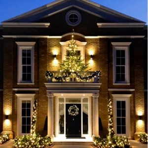 Residential Christmas Decorations in Wirral and Cheshire