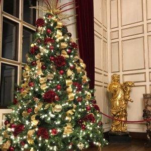 Warwick Castle christmas tree