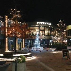 Bell Court Stratford christmas tree